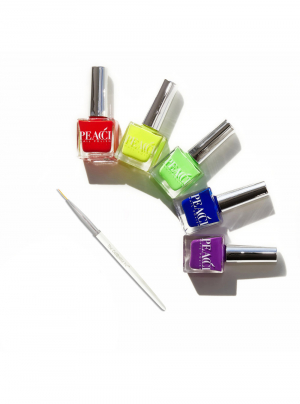 Rainbow Nail Art Kit